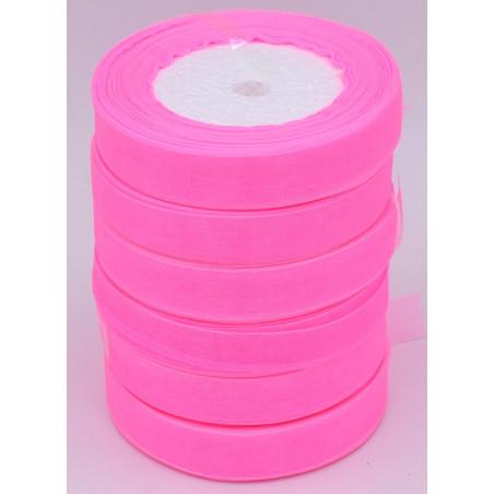 Nastro di organza colore rosa