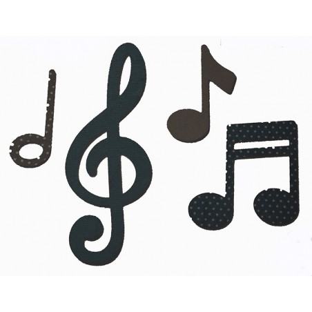 Fustella bigz note musicali per big shot