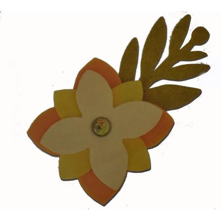 Fustella sizzix rami e fiori