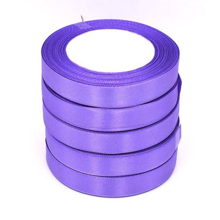 Nastro di raso 22,5 metri colore viola
