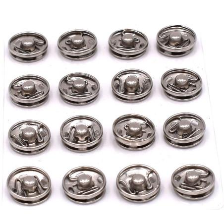 Bottoni a pressione 16 pezzi 14mm
