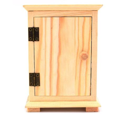 Armadietto in legno per decoupage