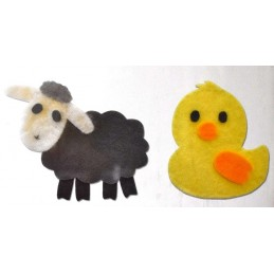 Fustella bigz pecora e pulcino