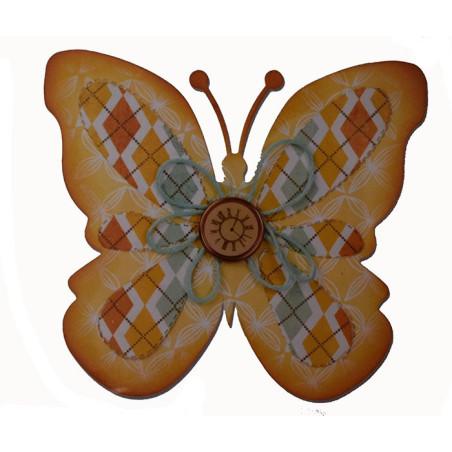 Fustella bigz sizzix per big shot farfalla