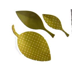 Fustella bigz foglie in tre...
