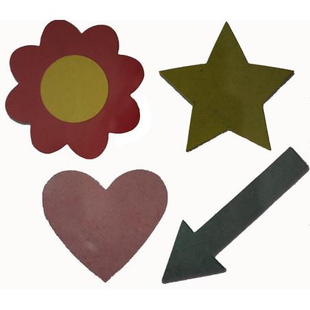 Fustella bigz sizzix cuore stella freccia fiore