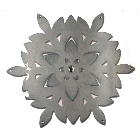 Fustella sizzix bigz decorazione fiocco di neve