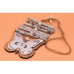 Accessori shabby in legno e...