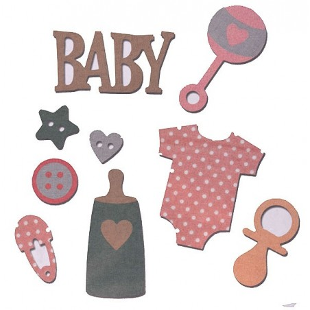 Fustella bigz L baby con accessori