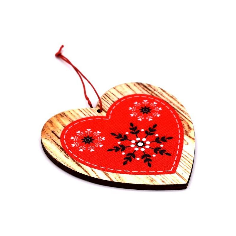 Decorazioni In Legno Natalizie : Renna fatta a mano di legno due per la decorazione di natale con