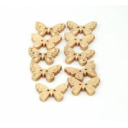 Bottoni di legno a forma di...