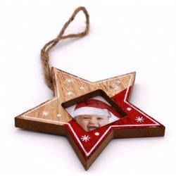 Porta foto natalizio a...
