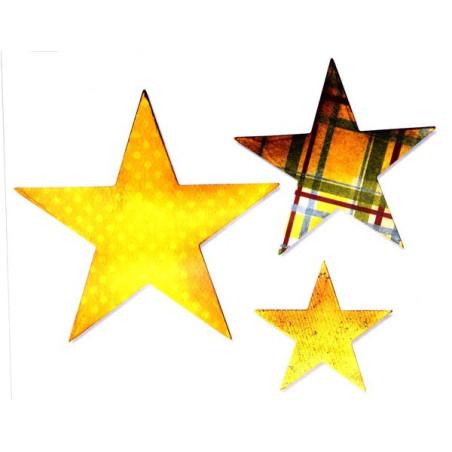 Fustella sizzix bigz tre stelle