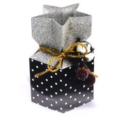 Fustella bigz sizzix L scatola natalizia