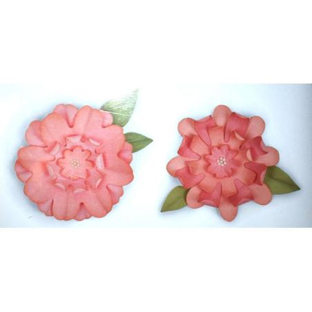 Fustella bigz sizzix fiori con foglie