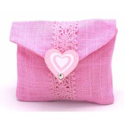 Portaconfetti colore rosa