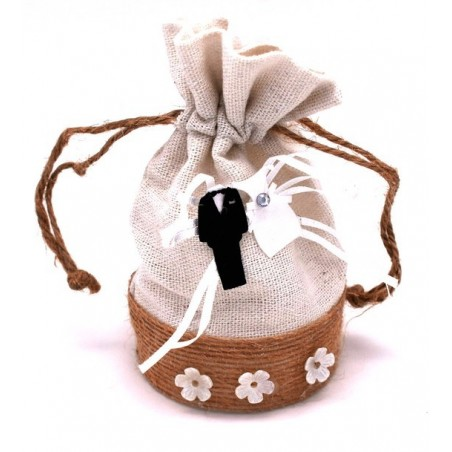 Bomboniere porta confetti per il matrimonio