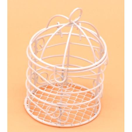 Bomboniere portaconfetti il ferro forma di gabbia