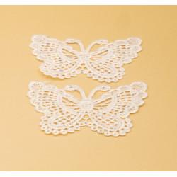 Pizzo decorativo farfalle
